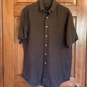 Brooks Brothers Irish Linen Shirt M